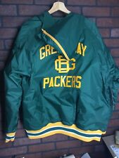 Size XL New With Tags Green Bay Packers Football Jacket Vintage Style