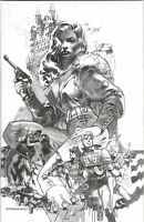 AIRBOY #51 NM STERANKO SKETCH VARIANT COVER SIGNED STERANKO AUTOGRAPHED 1 of 52