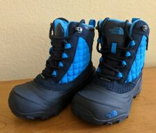 The North Face Youth Thermo Ball Utility Waterproof Boots Size 11 Blue