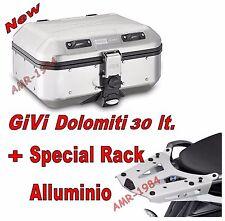 GIVI BAULE TREKKER DOLOMITI DLM30.+ SRA7703  KTM 1290 super ADVENTURE 2015-2016