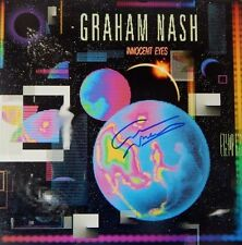 GRAHAM NASH Signed Autographed INNOCENT EYES Vinyl RECORD Album CROSBY STILLS