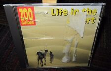 Zooguides Volume 6: Life In The Desert Pc Cd Rom, Easy To Read Sections Win/Mac