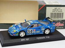 Dettaglio Cars 1/43 - Ferrari F40 Le Mans 1995 Pilot