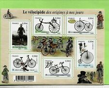 FRANCE Sc 4041 NH MINISHEET of 2011 - BICYCLES
