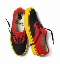 Vans Authentic Disney Mickey/Red/Yellow Skate Shoes Men's Size 4.5 Women's 6
