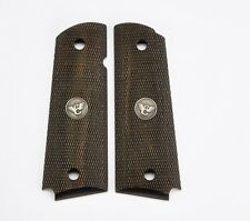 Wilson Combat - 1911 Full-Size Diamondwood Grips - Checkered - 351DFS