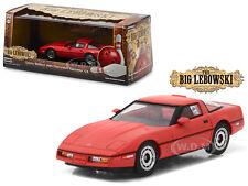 LITTLE LARRY SELLER'S 1985 CHEVROLET CORVETTE C4 RED 1/43 BY GREENLIGHT 86497