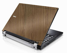 WOOD Vinyl Lid Skin Cover Decal fits Dell Latitude E6400 Laptop