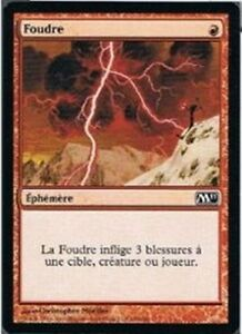 Foudre - Lightning Bolt - Magic mtg -