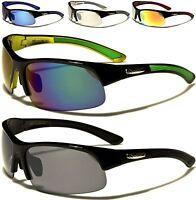 New Xloop Sunglasses Ladies Mens Black Designer Sports Big Wrap Cycling Running