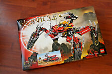 NEW AND SEALED BIONICLE LEGO SET 8996 SKOPIO XV-1.