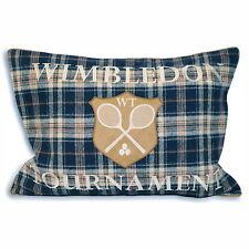 Wool Blend Tartan Modern Decorative Cushions