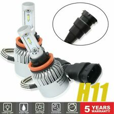 H11 LED Headlight 6000K Kit Hight Low Beam Bulbs High Power White Pair
