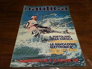 Rivista Nautica giornale NAUTICA anno XVI  n° 184 Luglio Agosto 1977