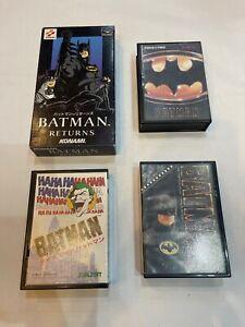 Mega Drive Famicom Game JAPAN BATMAN Super Medicom BATMAN RETURN Konami Sunsoft