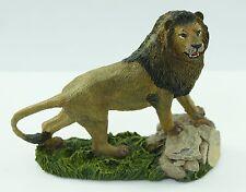 Franklin Mint Wildlife Preservation Trust Asiatic Lion Sculpture 1987 Figurine