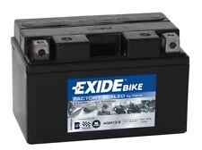 Batterie moto AGM YTX9-BS Exide AGM12-8 12V 8.6AH 190A 150X90X95MM