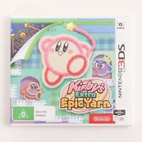 Kirby's Epic Yarn for the Nintendo 3DS