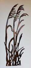 New listing Sea Oats Wind blowing right metal wall decor copper/bronze
