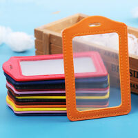 Tag Transparent Office Supplies Office School ID Card Holder Badge Case Safety