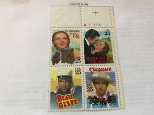 United States Classic films block mnh 1990