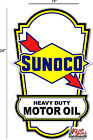 """24"""" SUNOCO LUBSTER SIDE DECAL GAS AND OIL PUMP, SIGN, WALL ART STICKER a"""