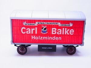 """82719 Märklin Möbeltransport-anhänger """" Carl Balke """" from Set 58361 For Gauge 1"""