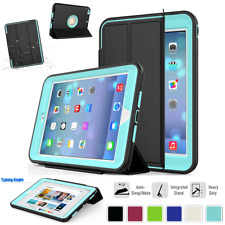 Shockproof Smart Case Heavy Duty Folio Stand Full Cover For iPad Air Mini Pro