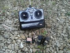 Acoms Techniplus 27Mhz AM transmitter, Ace receiver two futaba servos