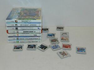 Nintendo 3ds 2ds Games Complete Carts Fun You Pick & Choose Video Games Lot