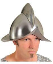 Spanish Conquistador Helmet replica 16 to 18 gauge steel plate helm Authentic