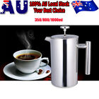350ML-1000ML Stainless Steel French Coffee Press Tea Coffee Maker Plunger Filter