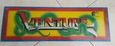 Venture Stand up Video Arcade Game Marquee Header Exidy