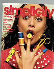 SIMPLICITY SEWING BOOK tpb Revised tailoring crochet lining fitting illustrated