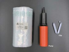 Bubble Cushioning Wrap, Inflatable Packing Material,150 ft. Free Pump/Clip.