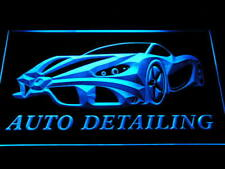 s233-b Auto Detailing Detail Car Wash Neon Light Sign