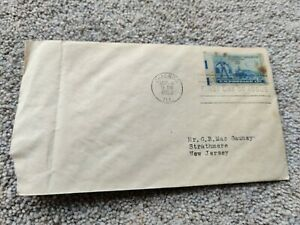 Vintage 50th Anniversary 1902 -1952 of American Automobile Association Stamp