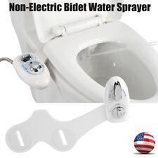 Non-Electric Bidet WaterSprayer Dual Nozzle Adjustable Toilet Bidet Attachment
