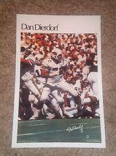 "Dan Dierdorf  (Mini Poster) # 27 of 50  NFL 1980 5.5"" x 8.5""  Thick Card Stock"