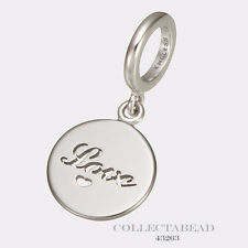 Authentic Endless Sterling Silver Love Coin Bead 43263