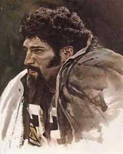 Rare Franco Harris Corning Pittsburgh Steelers Print
