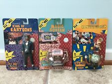Pee Wee's Playhouse - Vintage 80s Matchbox Action Figures Lot Of 3 - New