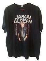 Jason Aldean Concert T Shirt 2016 We Were Here Black Men's XL EUC