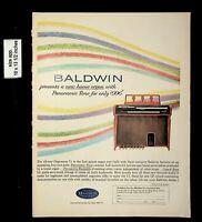 1962 Baldwin Piano New Home Organ Vintage Print Ad 17920