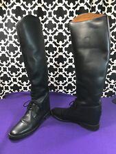 Amazonas Cavalier Tall English Leather Riding Boots - Sz. 8