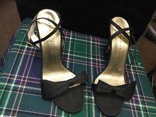 Martinez Valero Black Shoes Size-7 1/2