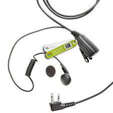 MP Tipo Auricular Para Radio Icom (2 Pin Ángulo Recto) Pentágono-Auriculares