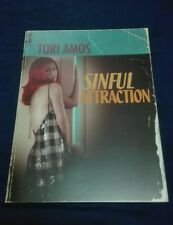 TORI AMOS SINFUL ATTRACTION OFFICIAL TOUR PROGRAMME PROGRAM BOOK NEW RARE