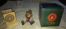 Boyds Bears And Friends resin Bear Stone Collection Hop-A-Long the Deputy 1993