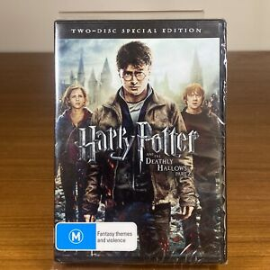 Harry Potter And The Deathly Hallows Pt2   DVD Region 4   VGC + Free Shipping